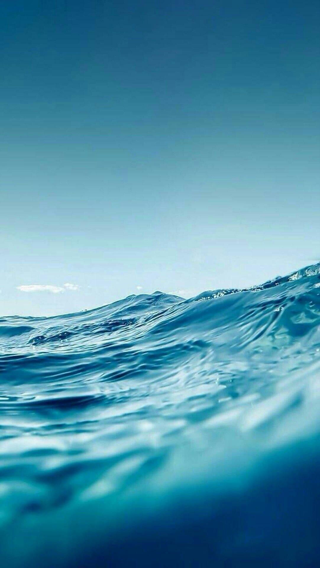 Pin By Mari On Fondos Ocean Wallpaper Ocean Waves Best Iphone Wallpapers