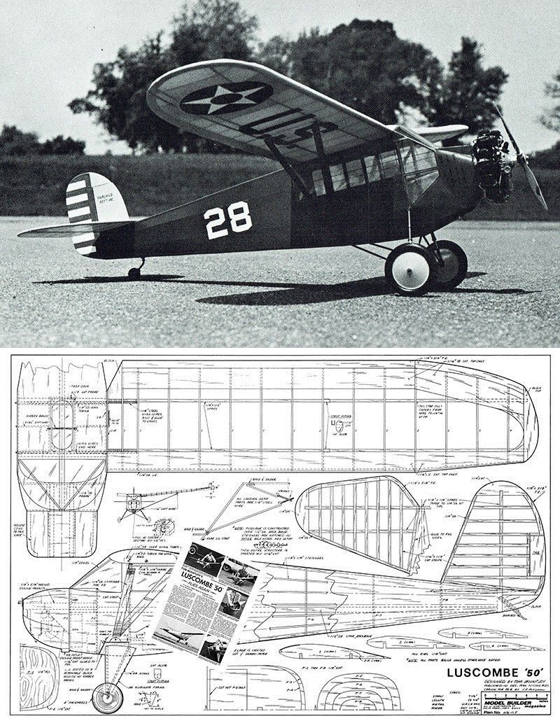 RC Plans Templates and Manuals 182212: Model Airplane Plans (Rc-F