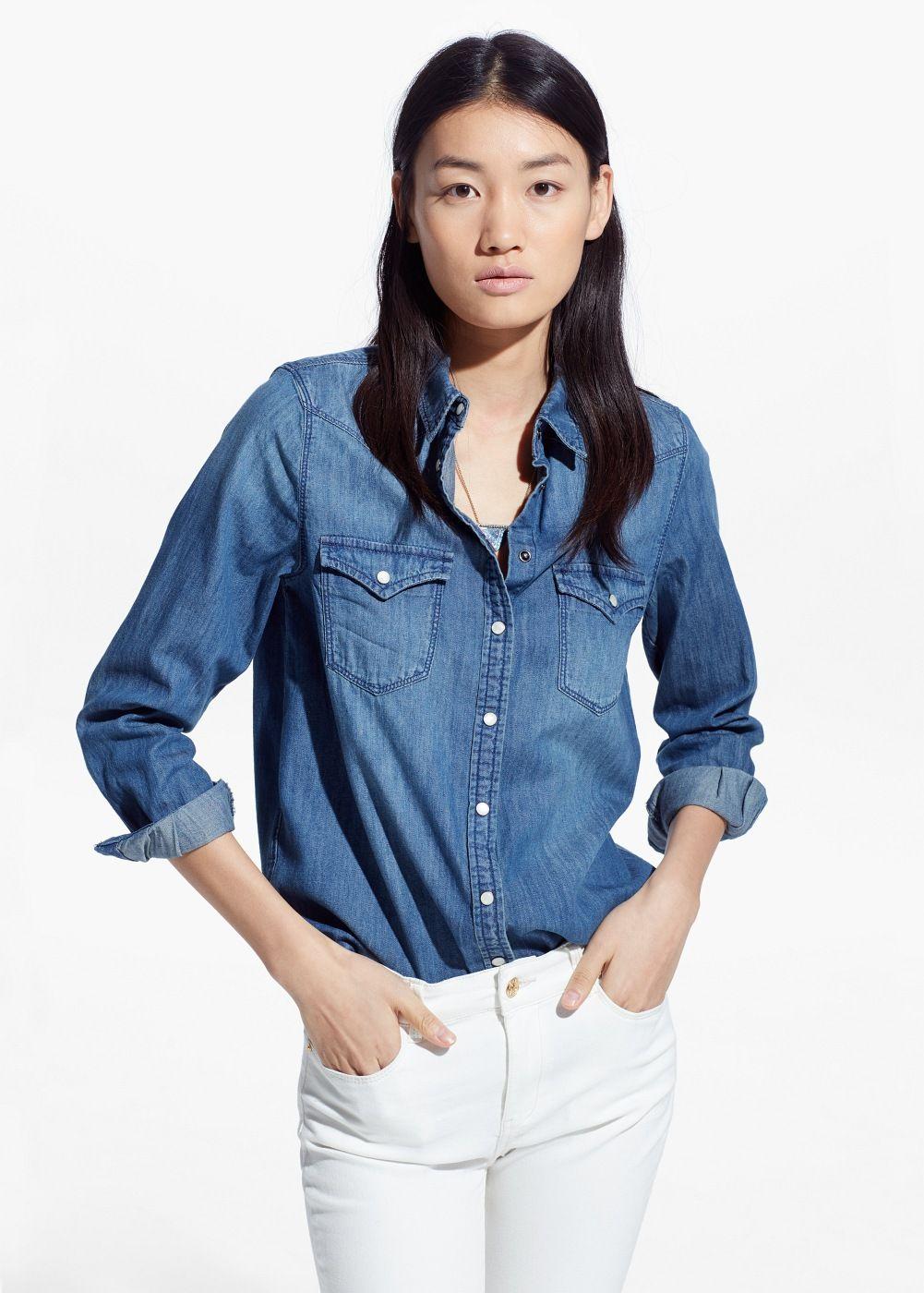 a75c6de6ab5 Medium denim shirt - Woman