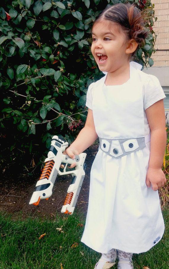 STAR WARS Princess Leia Disney inspired Child Costume Apron Pdf ...