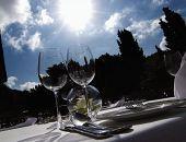 Hier verkehrt die Prominenz: Das Mallorca Restaurant Campino in Camp de Mar ist edel und schick.