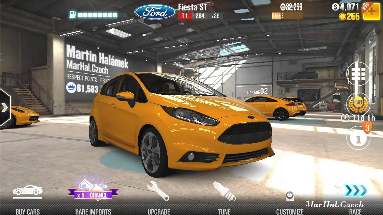 Ford Fiesta St Csr Racing 2 Android Gameplay Hd Ford Fiesta St Fiesta St Ford Fiesta