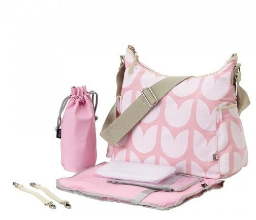 oioi hobo changing bag pink