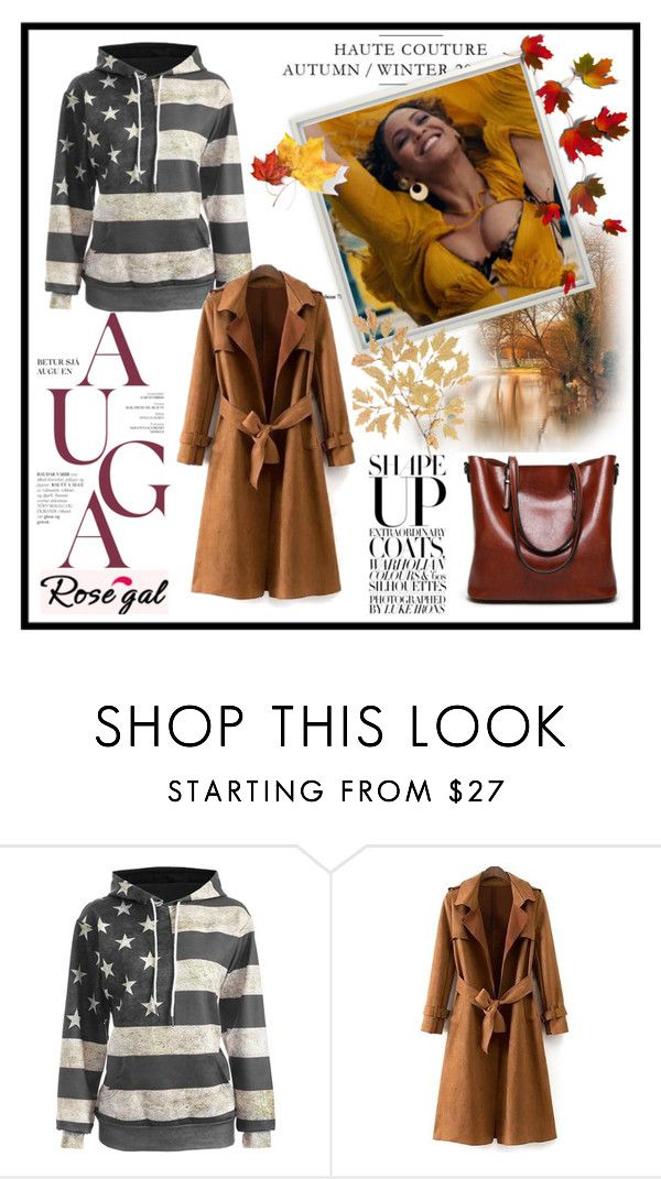 """39) Rosegal"" by glosaryy ❤ liked on Polyvore"