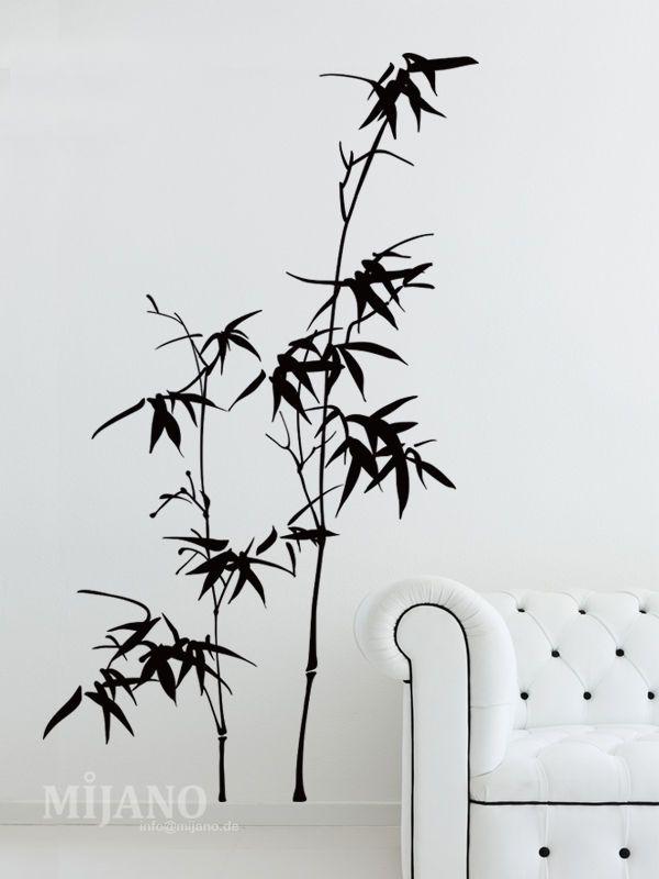 Details zu Wandtattoo Bambus #W1527 XXL Wandaufkleber Wandsticker
