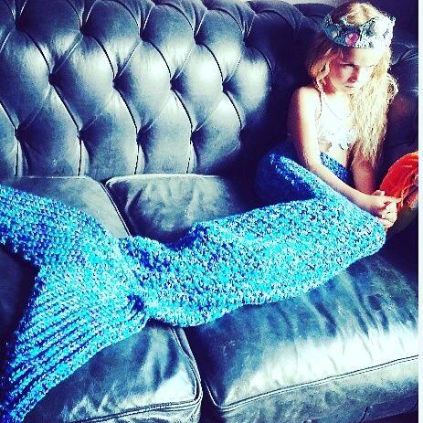 Little wool — Crochet mermaid tail