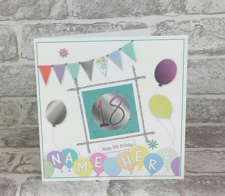 7th Birthday Card 21st birthday cards, 65th birthday
