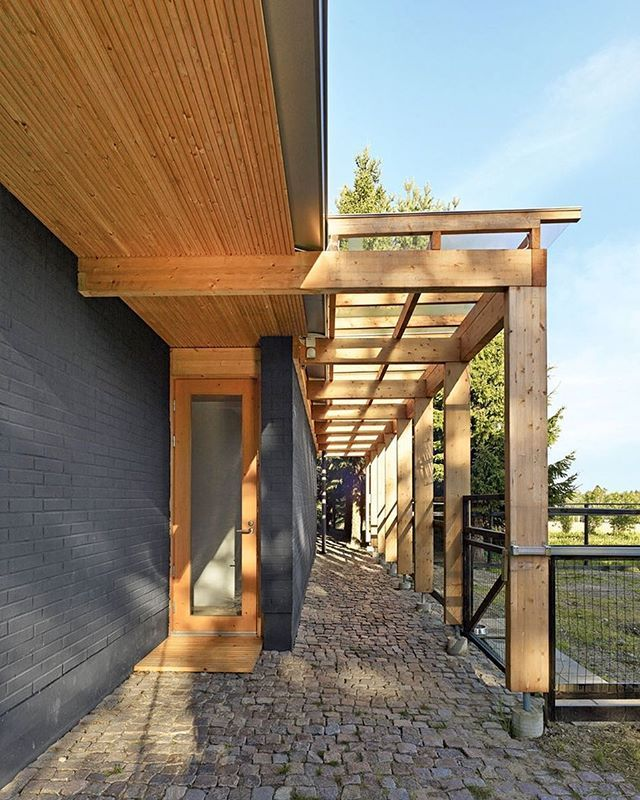 Amazing Cobblestones From City Streets Now Pave A Terrace At Finnish Architect  Anssi Lassilau0027s Rural Soini Retreat