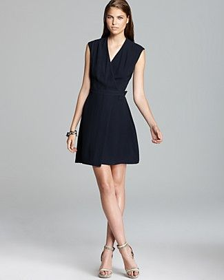 e3faece7f1a Theory Dress - Eldah Paramount Sleeveless Buckle
