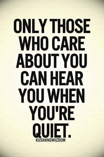 those who care
