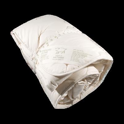 Organic Wool Duvet Inner | Natural Organic Bio Baby Products: Organic Cotton & Merino Wool