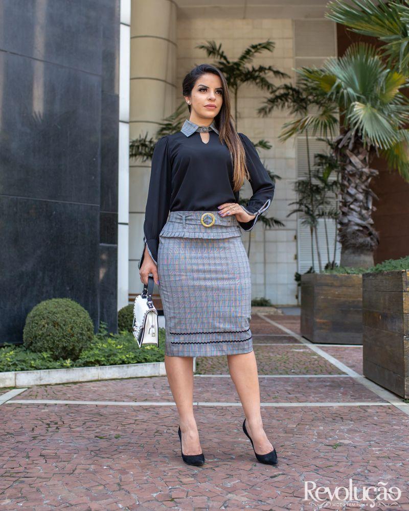 3eb3fa9db17066 Alto Inverno 2018 – Revolução Moda Feminina   Paola Santana em 2019 ...