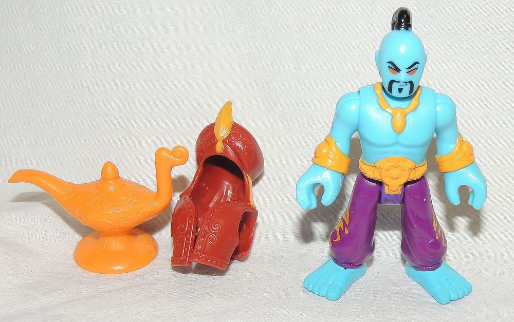 "2.5/"" Imaginext Genie Aladdin Blind Bag Series Action Figure Fisher-Price toy"