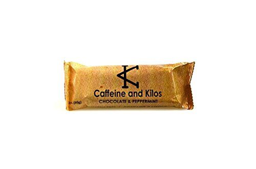 caffeine and kilos bar chocolate and peppermint box of 6