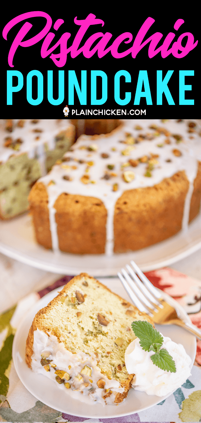 Pistachio Pound Cake The Most Amazing Pound Cake I Ve Ever Eaten So Easy And Delicious Flour Eggs Sour Cream P Sour Cream Pound Cake Pound Cake Desserts