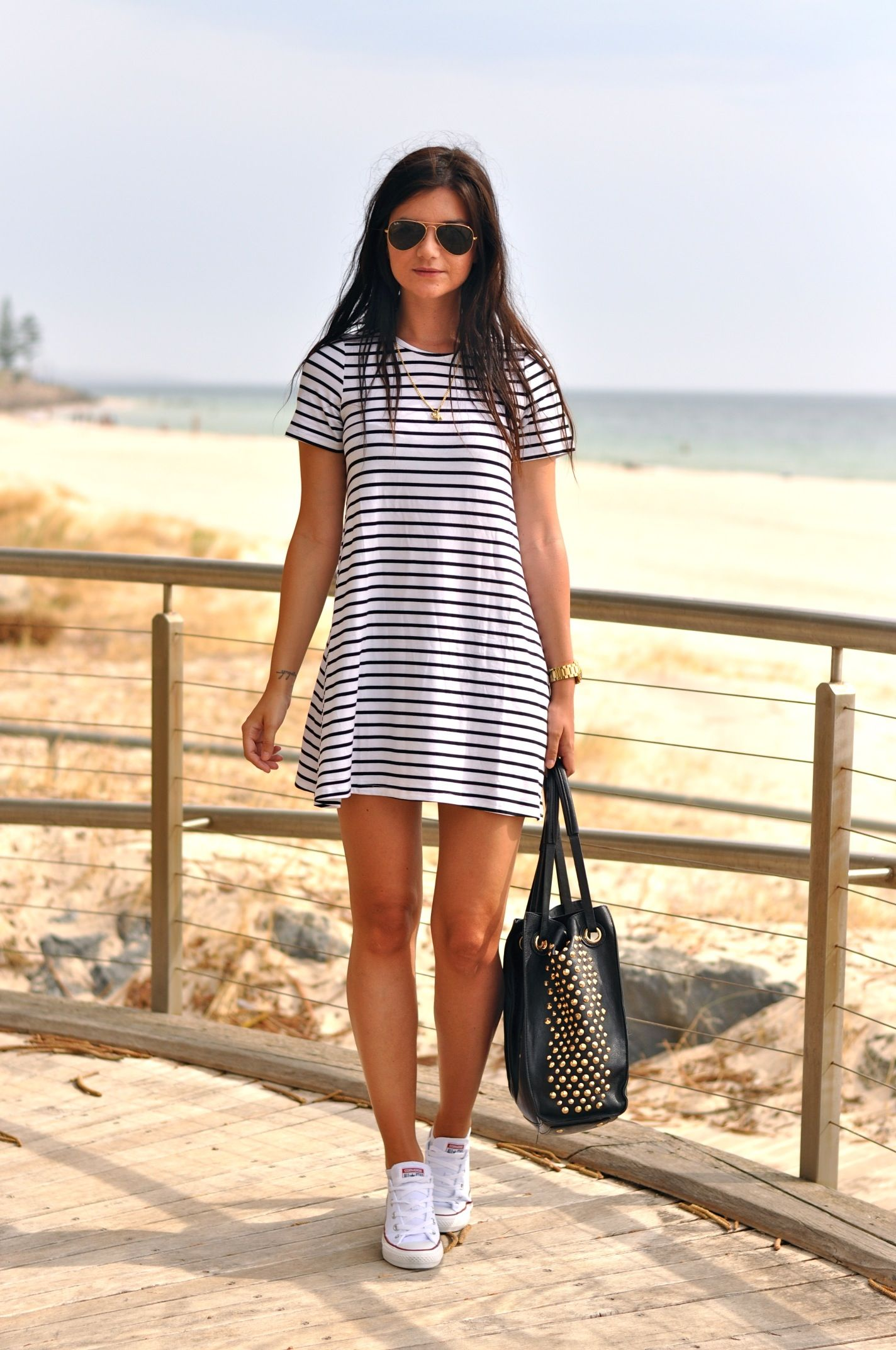 8ea825309b53 How to Wear Sneakers with a Dress