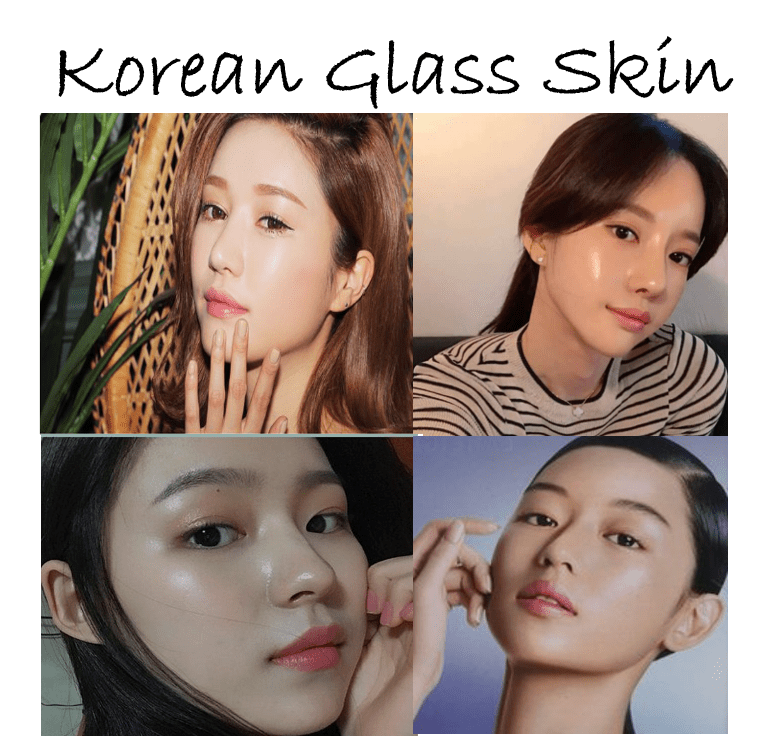 How to achieve a Korean glass skin look Glass skin, Skin