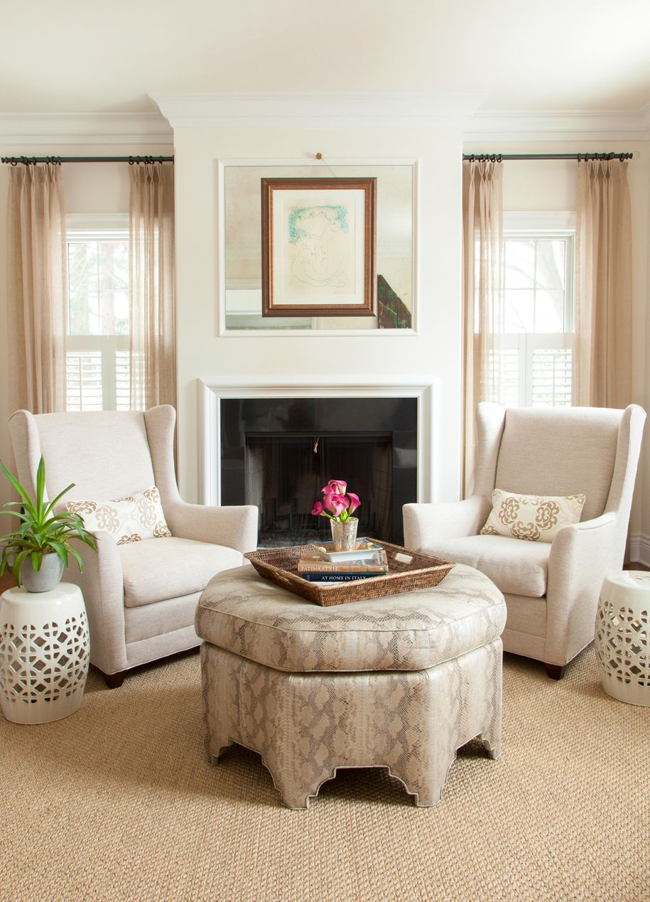 Project Profile: Chestnut Hill Living Room | Living rooms, Neutral ...