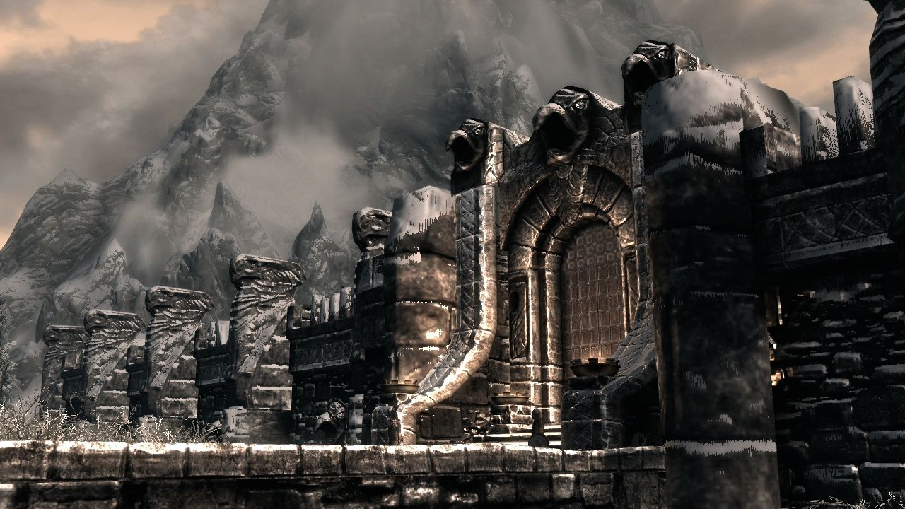 Windhelm Skyrim Tamriel Shut Up I Would Visit If I Could Places