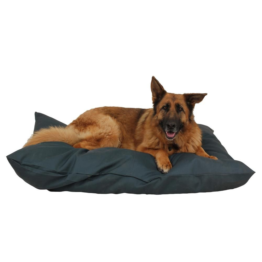 Large Solid Green Indoor Outdoor Shebang Bed 1392 The Home Depot Pet Companies Soft Dog Beds Pets