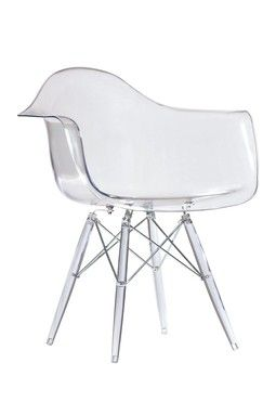 clear desk chairs lumbar support for office chair dulce modern mid century pinterest
