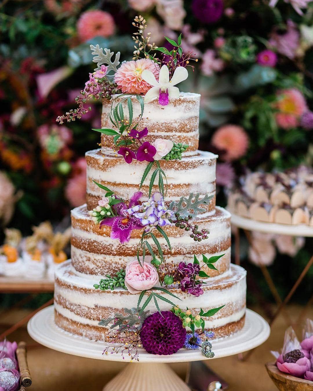 Pin auf Свадебные торты