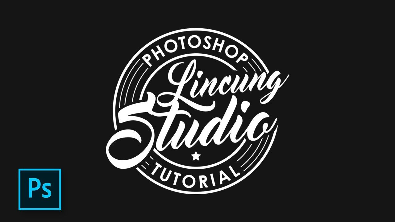 cara desain logo distro tema retro dengan photoshop photoshop tutorial desain logo desain logo retro cara desain logo distro tema retro