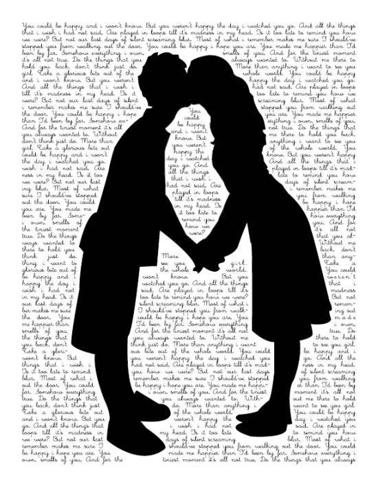 64 love typography art romance couple