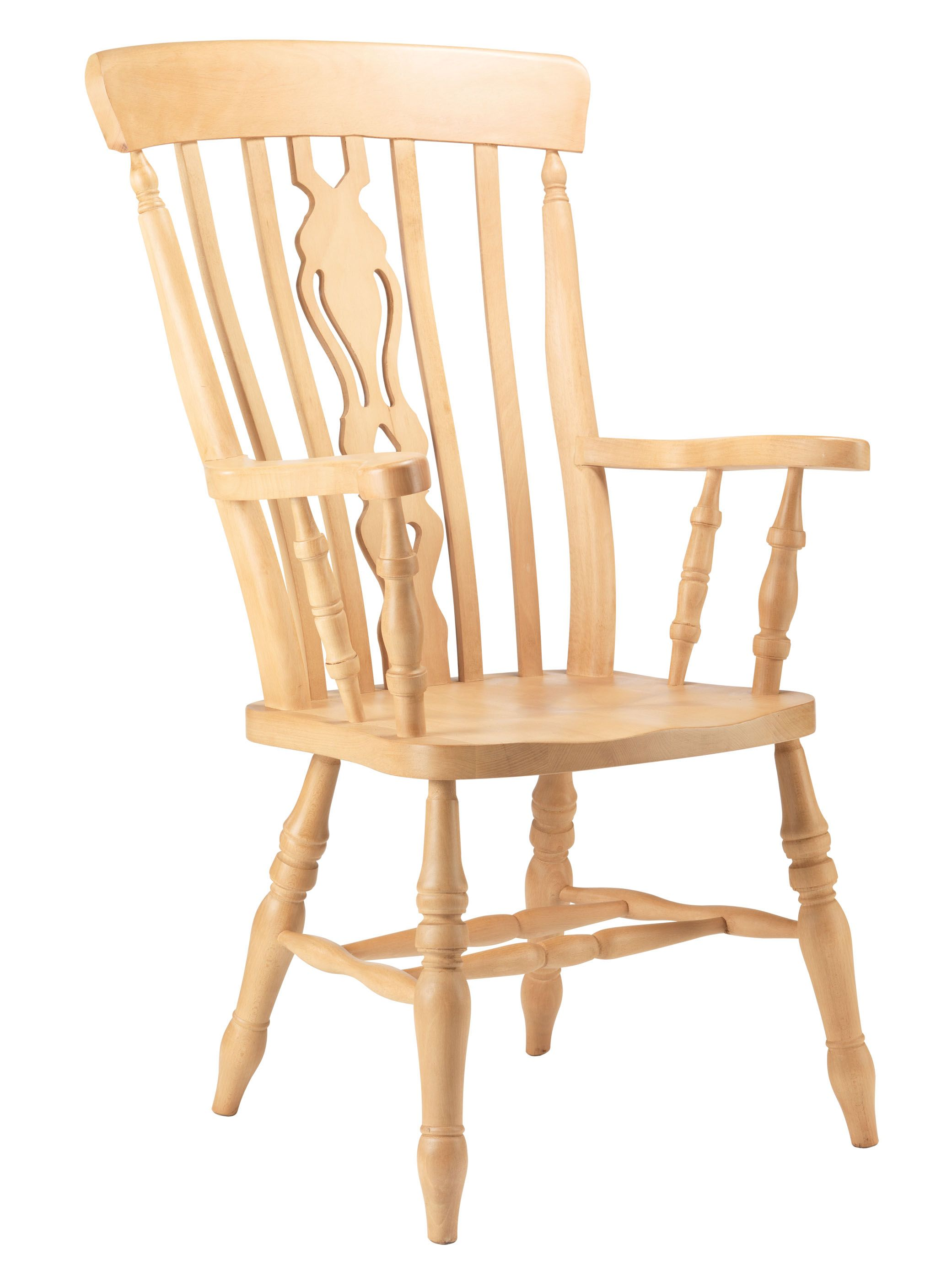 Brilliant Fiddle Back Grandfather Chair Made From Solid Beech A Inzonedesignstudio Interior Chair Design Inzonedesignstudiocom