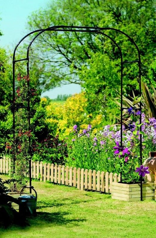 Diy Garden Ideas Garden Arch And Bench Ideas For An