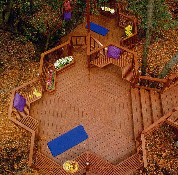 How To Create An Outdoor Room That Looks Like The Inside Of Your Home Backyard Deck Ideas On A Budget Backyard Decks Backyard