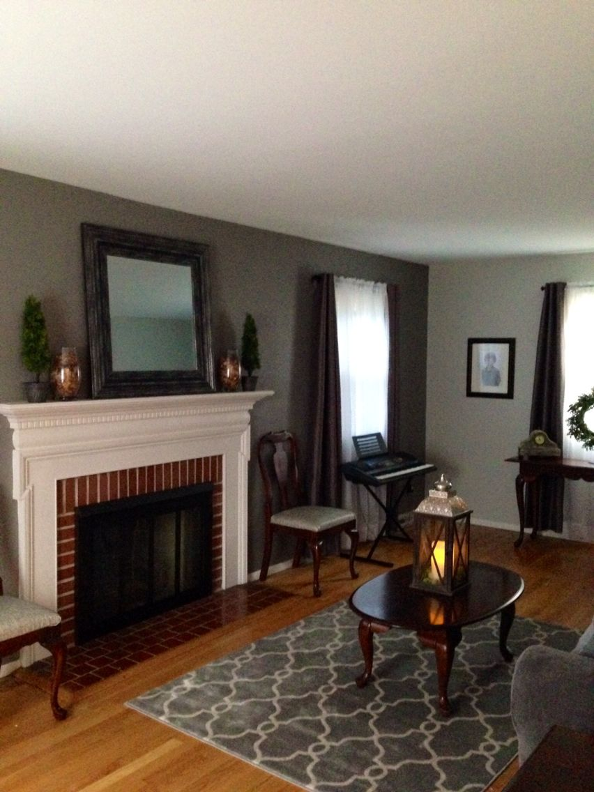 Living Room Sherwin Williams Dovetail And Repose Gray Paint Update Living Room Pinterest