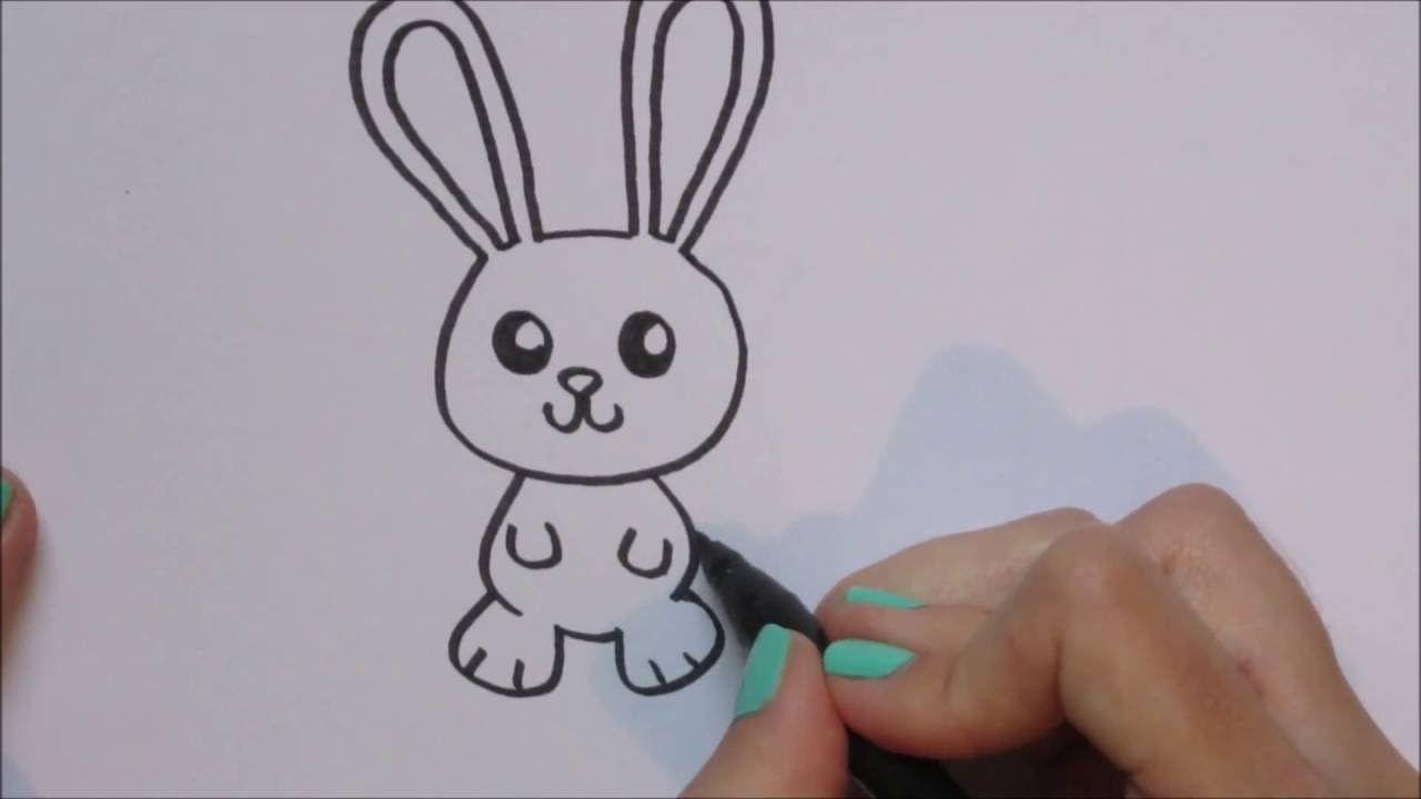 Konijn Rabbit Tekenen How To Draw 46 Youtube Drawings Iris Painting