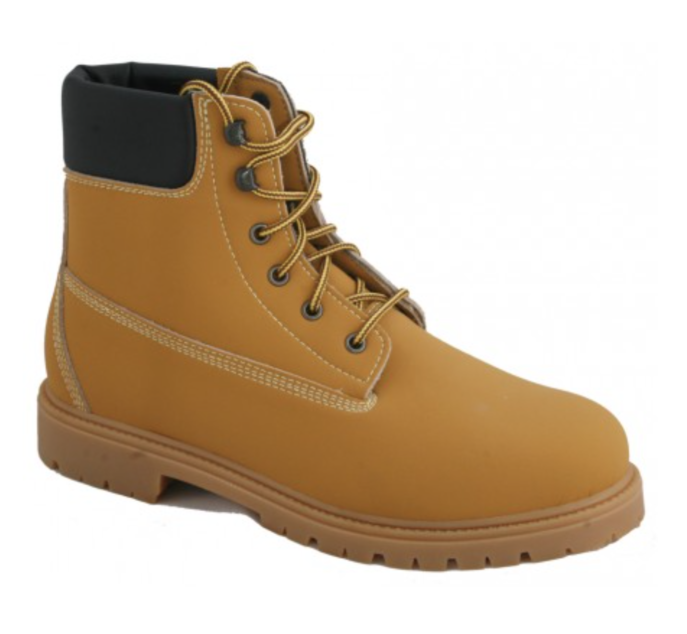 Timberland style vegan boot made for