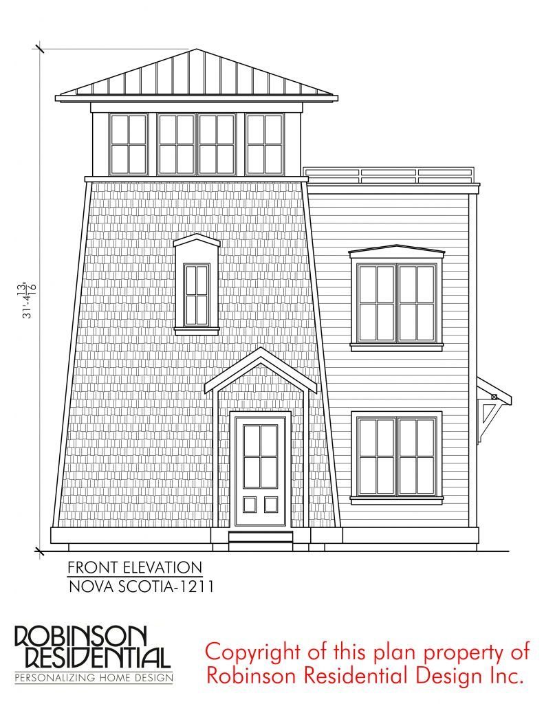 Nova Scotia 1211 Robinson Plans Small House Plans House Plan Gallery Small House