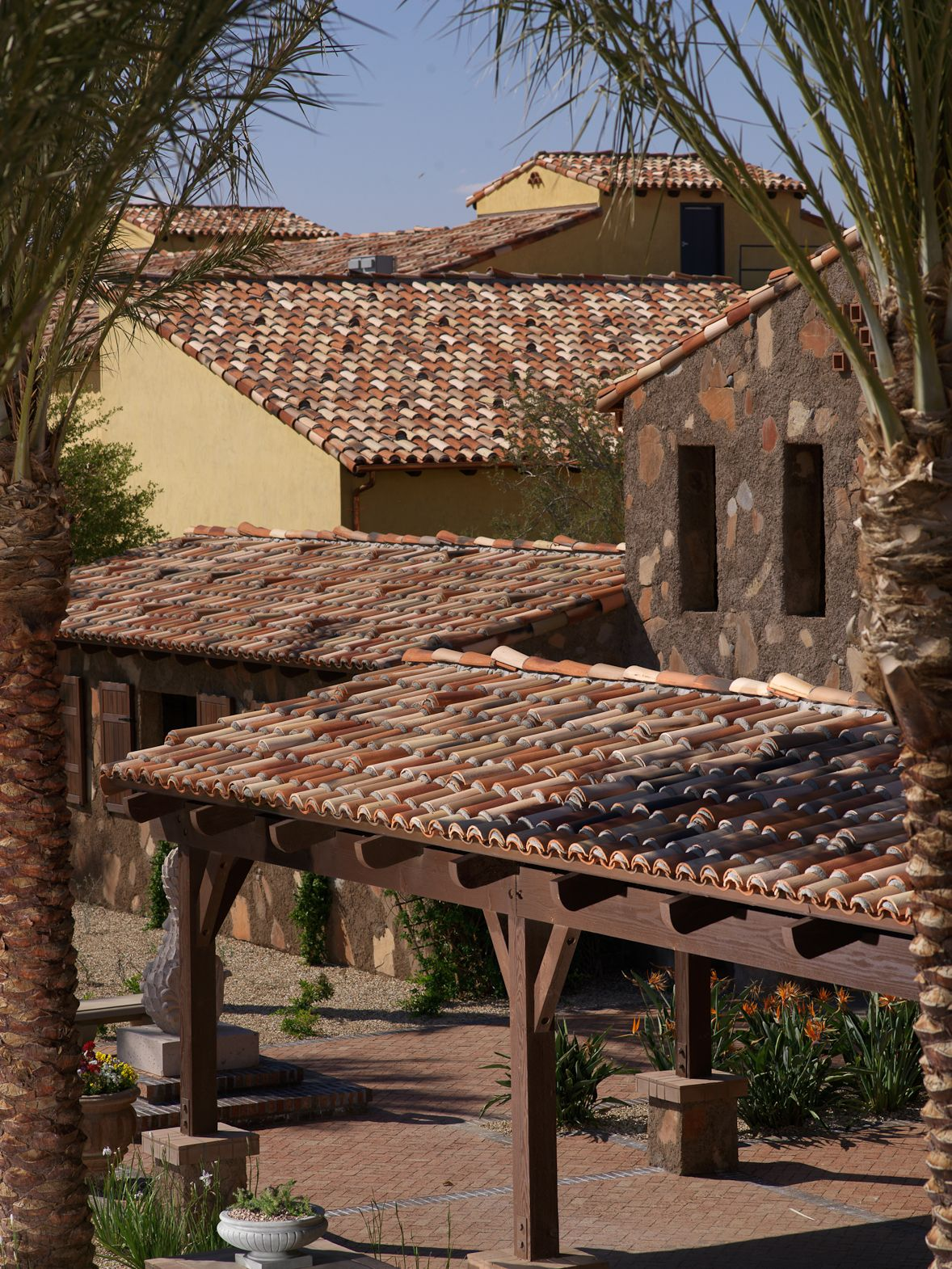 So cool looking ... handmade Boral Roofing Clay Cielo Tile ...