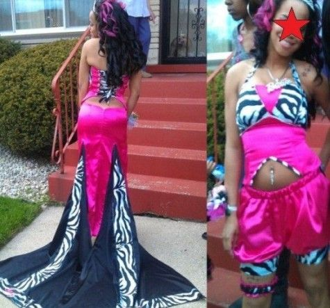 Over 60 of The World\'s Most Trashy, Ugly, Slutty and Ghetto Prom ...