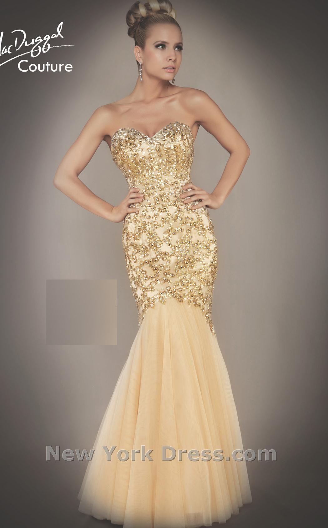 6fd0046345 ... prom dresses. gold mermaid dress