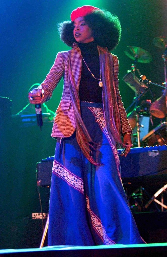 Lauryn Hill's 15 Best Looks | Lauryn hill, Erykah badu style, Fashion