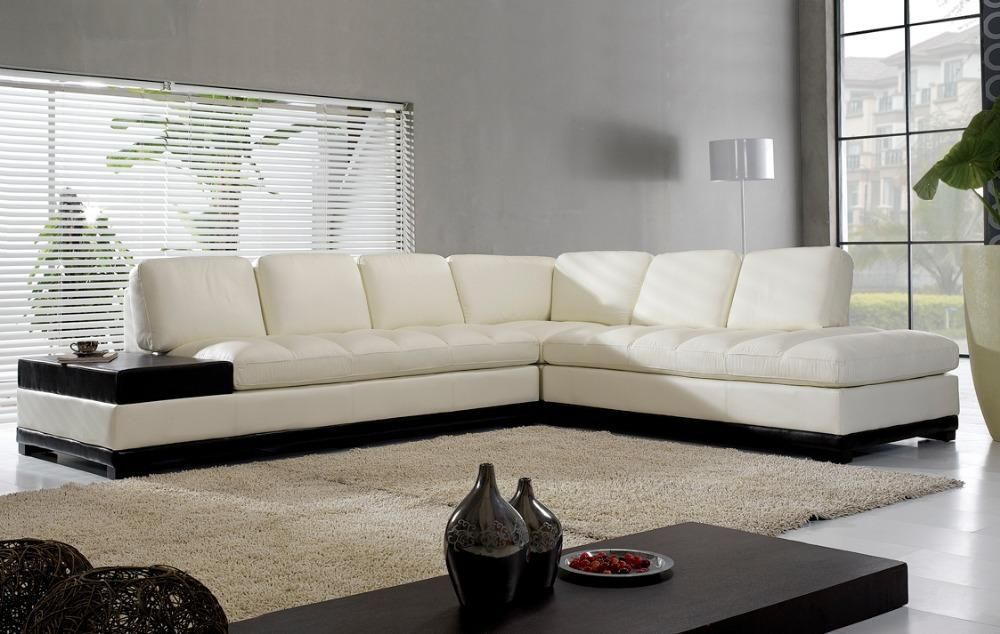 High Quality Living Room Sofa In Promotion Real Leather Sectional Ectional Corner Furniture Couch Sofas