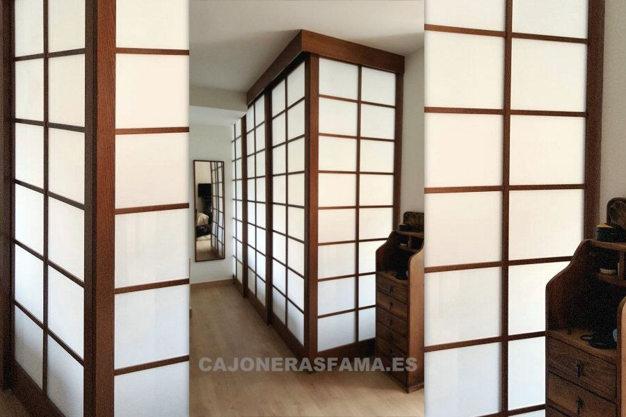 Se denomina shoji a un tipo de puerta tradicional en la for Puertas japonesas