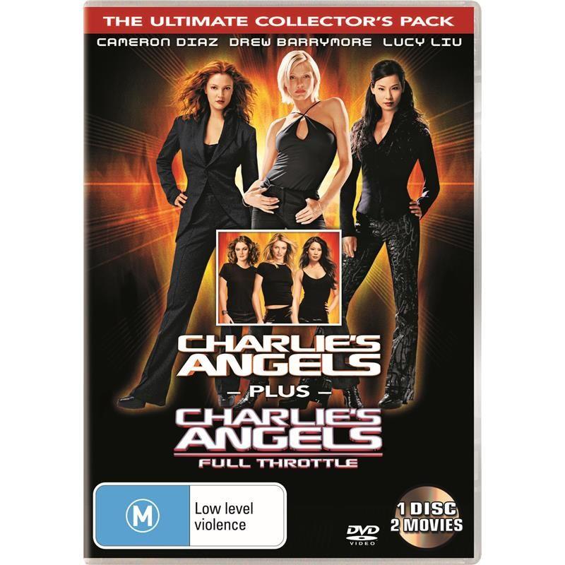 Charlie S Angels 1 2 Dvd Jb Hi Fi Charlies Angels The Wedding Singer Charlie
