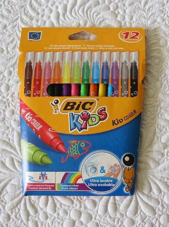 Geta Grama uses these: BIC Kids - washable markers for quilts ... : marking pens for quilting - Adamdwight.com