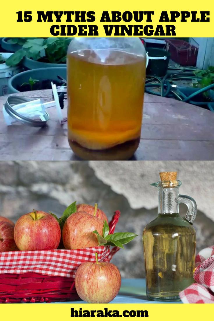 15 Myths About Apple Cider Vinegar