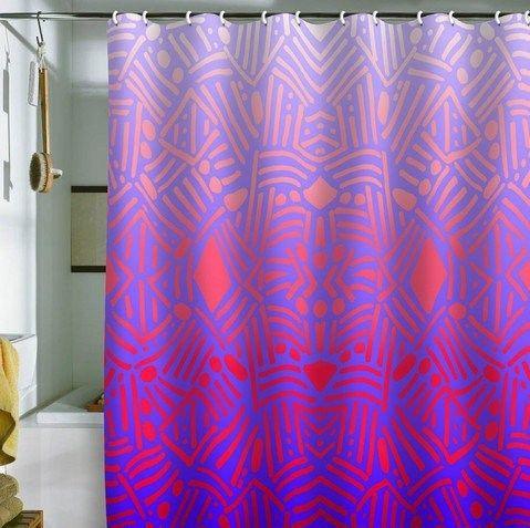ombre shower curtain - Google Search | Venice Beach Apt | Pinterest