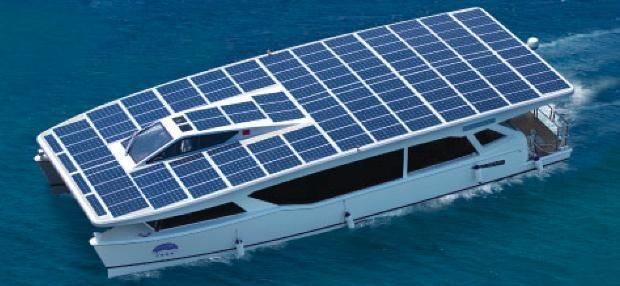 Solar Powered Yacht Solar Electric Boat Yacht Design