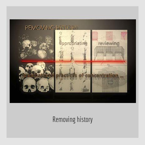 REMOVING HISTORY.  YENY CASANUEVA Y ALEJANDRO GONZÁLEZ. PROYECTO PROCESUAL ART.