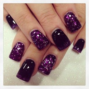 Love these for Halloween!!! | Halloween nails, Purple ...