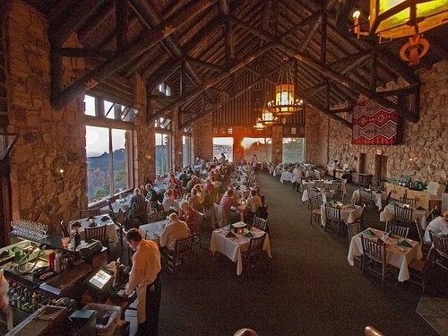 This Is The Grand Canyon Lodge Dining Room With A Direct View Of The Magnificent Grand Canyon Lodge Dining Room