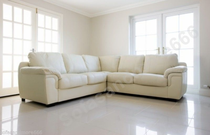 Http Www Ebay Co Uk Itm Brand New Corner Sofa Amy Cream Faux Leather Living Room Suite 271032785384 Pt Lh Living Room Suite Living Room Leather Corner Sofa